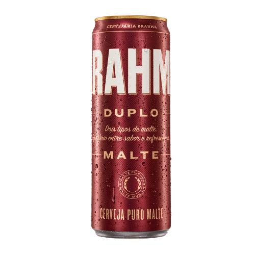 Cerveja Brahma Duplo Malte 350Ml Lata
