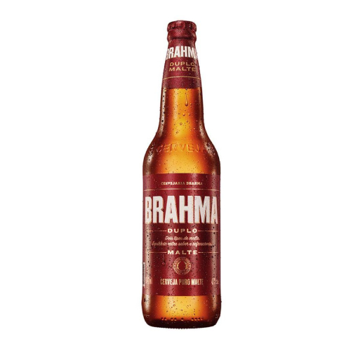 Cerveja Brahma Duplo Malte 600Ml