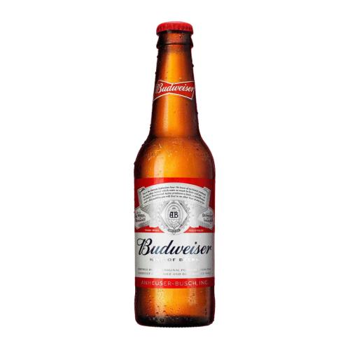 Cerveja Budweiser 330Ml Longneck
