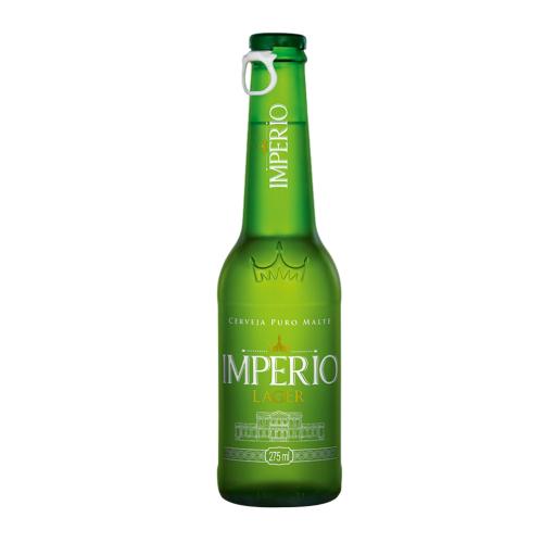 Cerveja Império Lager 275ML Long Neck