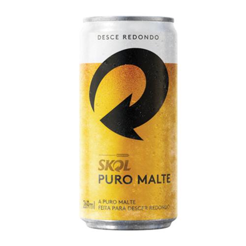 Cerveja Skol Puro Malte 269Ml Lata