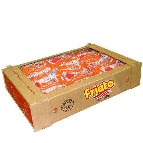 Coxa Sobrecoxa De Frango Envelopada Caixa 20Kg Friato