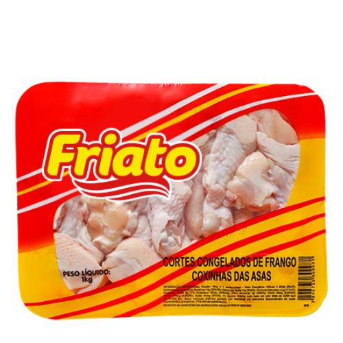Coxinha Da Asa De Frango Bandeja 1Kg Friato
