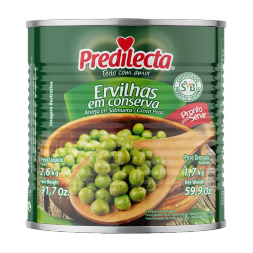 Ervilha Lata 1,7Kg Predilecta