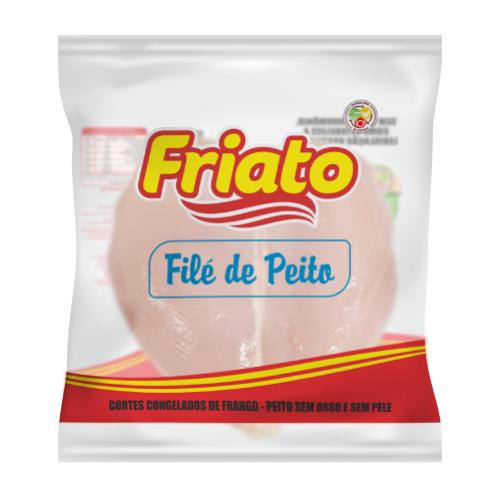 Filé De Peito Envelopado Caixa 20Kg Friato
