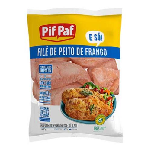 Filé Peito De Frango Iqf 700G Pif Paf
