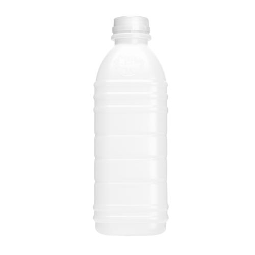 Garrafa Plástica Com Tampa Kit 10 Unidades 1000Ml Maluger