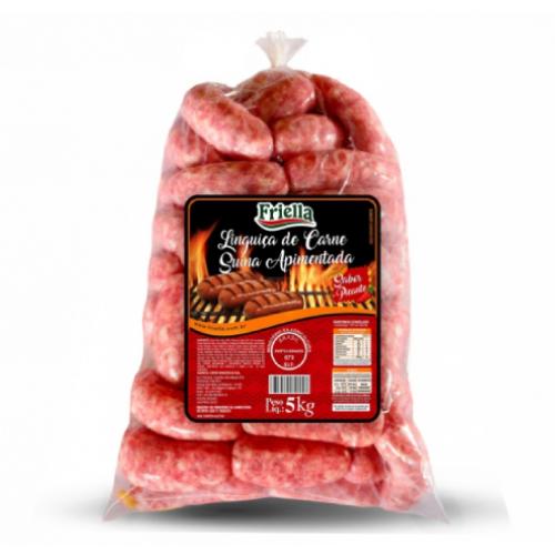 Linguiça De Carne Suína Apimentada 5Kg Friella