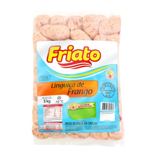 Linguiça De Frango Grossa 5Kg Friato