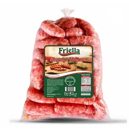 Linguiça Toscana 5Kg Friella