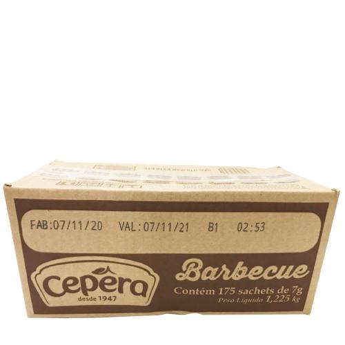 Molho Barbecue Sachê 7g 175 Unidades Cepêra