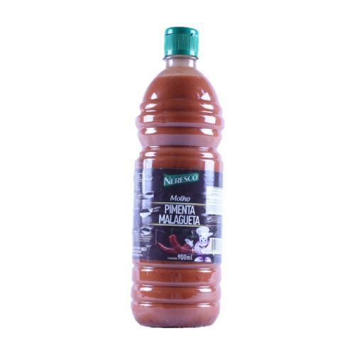Molho De Pimenta Malagueta Pote 900Ml Neresco