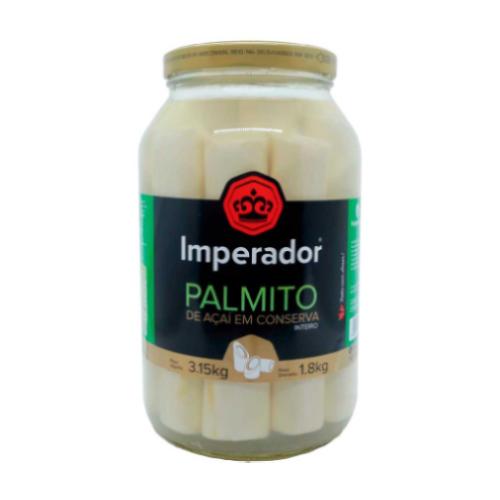 Palmito Inteiro Açaí 1,8Kg Imperador