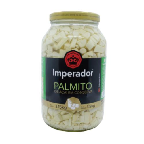 Palmito Picado Açaí 1,8Kg Imperador