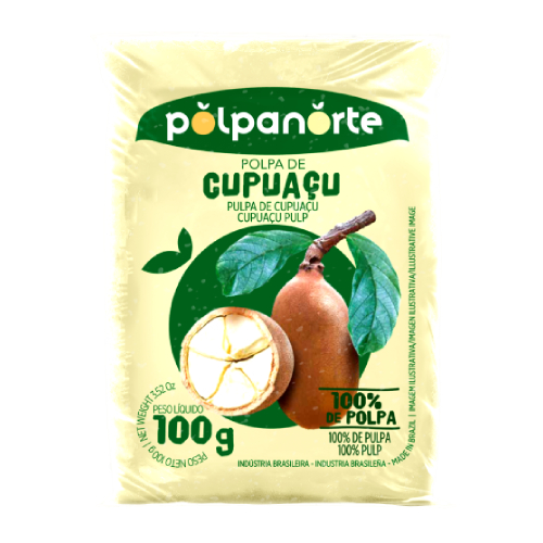 Polpa De Fruta Sabor Cupuaçu 100G Polpanorte
