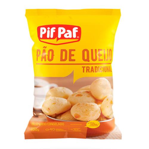 Pão De Queijo Tradicional 400G Pif Paf