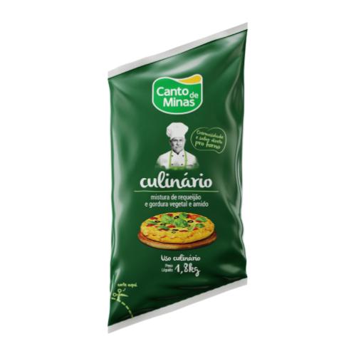 Requeijão Culinário Tradicional 1,8Kg Canto De Minas