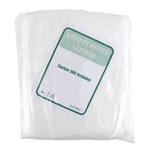 Saco Plástico PEAD Para Lanches 20X20Cm 500 Unidades