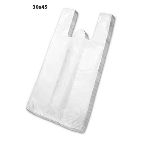 Sacola Plástica Branca 30X45 500 Unidades