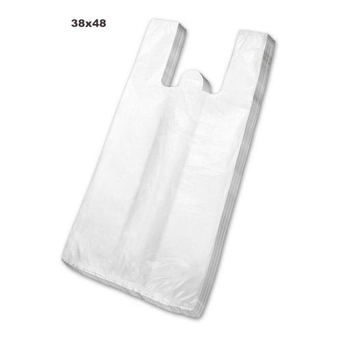 Sacola Plástica Branca 38X48 500 Unidades
