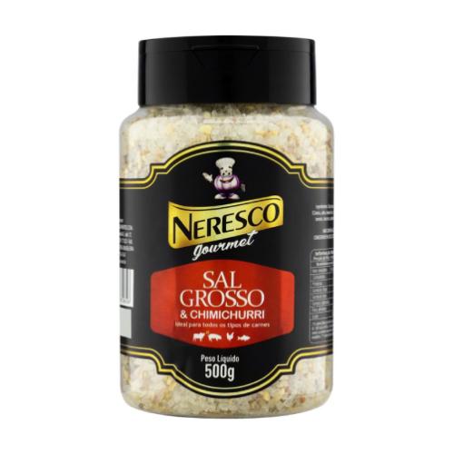 Sal Grosso Com Chimichurri 500G Neresco