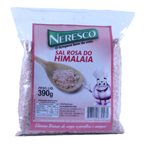 Sal Rosa Himalaia Sachê 390G Neresco