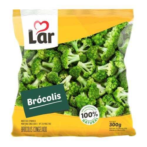 Brócolis Natural Congelado 300G Lar