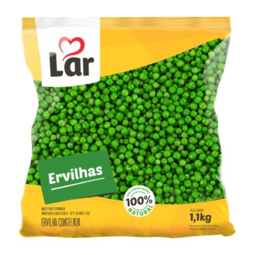 Ervilha Natural Congelada 1,1Kg Lar