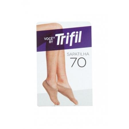 MEIA TRIFIL SAPATILHA INVISIVEL FIO 70