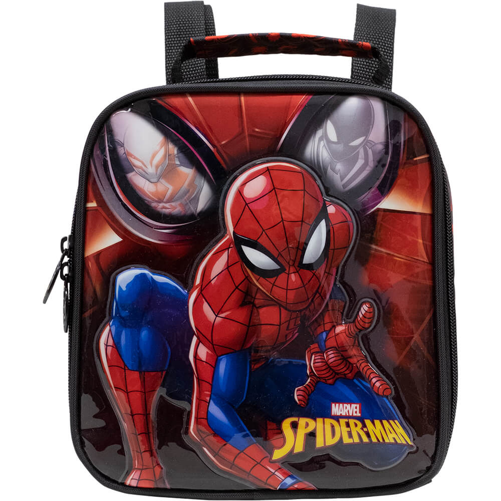 Kit Mochila Infantil Com Rodinhas Spider Man Xeryus