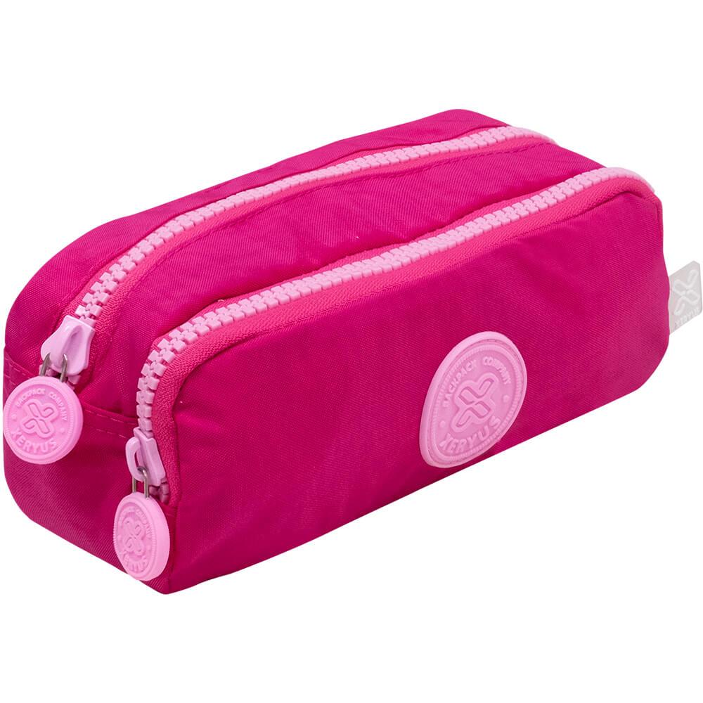 Kit Mochila Xeryus Trendy Pink Com Estojo Duplo