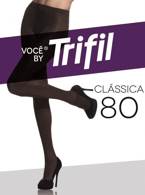 MEIA CALCA TRIFIL OPACA FIO 80