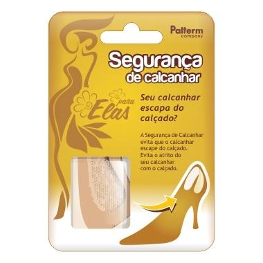 SEGURANCA DE CALCANHAR FEMININO PALTERM