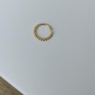 Piercing de furo Maitê Banhado em ouro18k