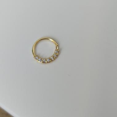 Piercing de furo Banhado em ouro18k