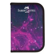 Estojo de Nylon Faber-Castell Cosmic Preto