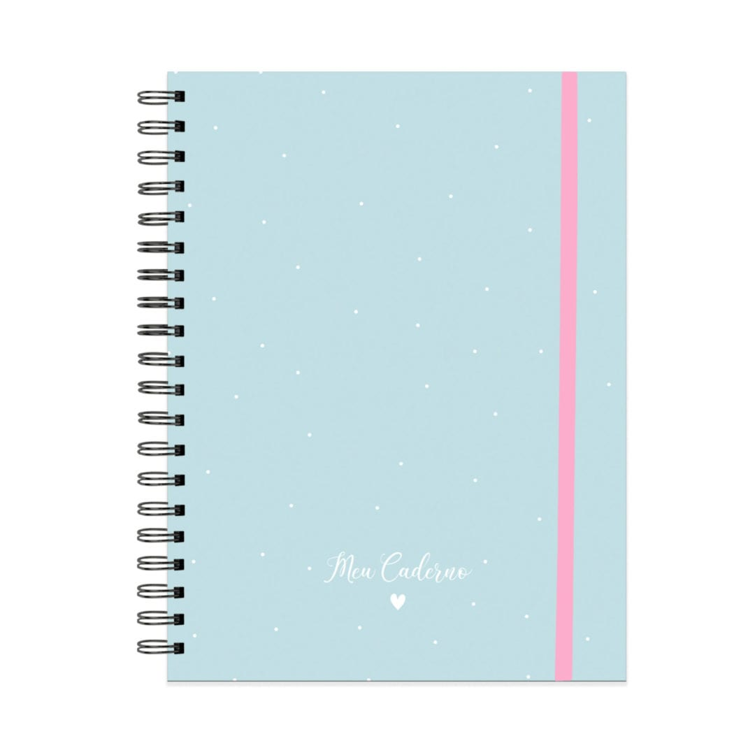 Caderno Fazer Acontecer A4 - Azul