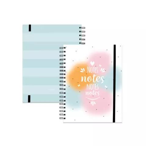 Caderno Paixão em cores 18 x 24