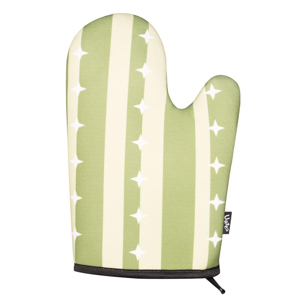 Kit Avental com Luva - Natural Colors Cactus