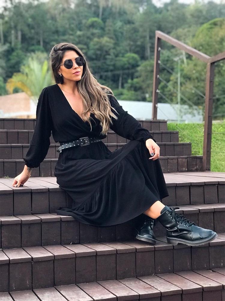 Dress Vienna Black #3