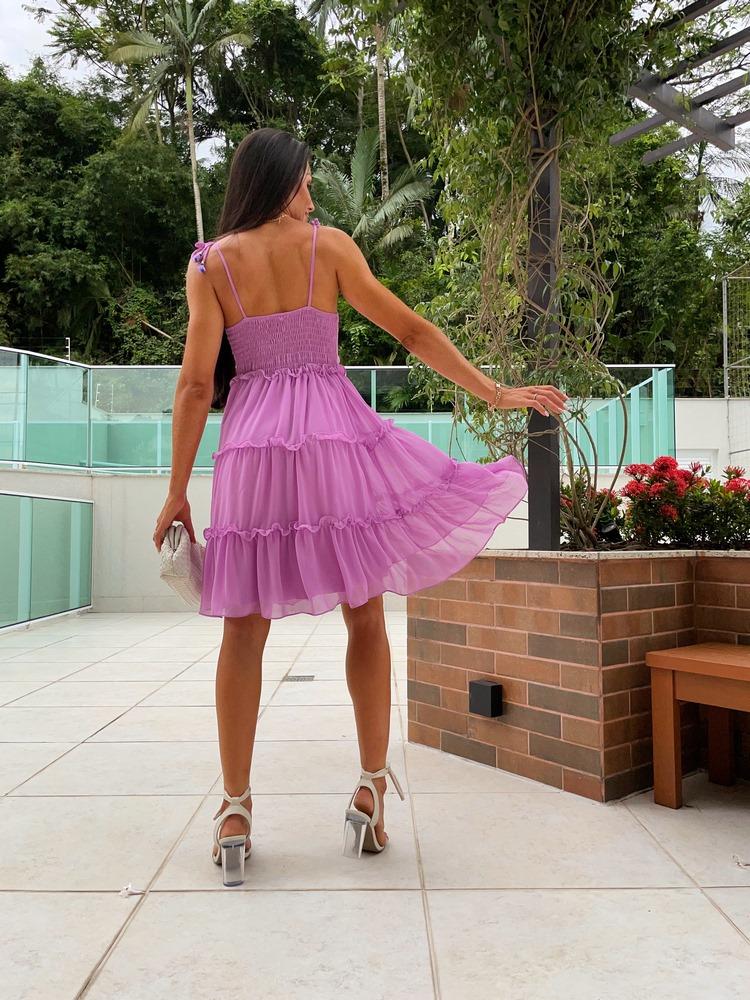 Vestido Afrodite Alças com Amarração #3
