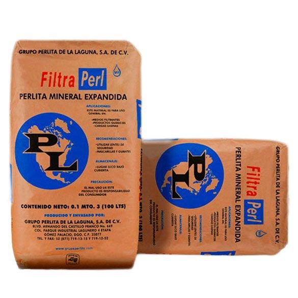 TERRA FILTRANTE FINA FILTRA PERL SF-1 SC 20 KG 100 LTS
