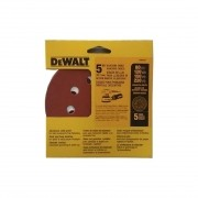 "5 disco de lixa 5"" sortido 8 furos Dewalt Dw4307"