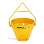 balde de 50 litros para guincho Menegotti