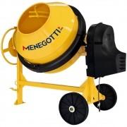 Betoneira prime  monofásico 400lts Menegotti com motor 2cv Weg