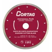 Disco diamantado para porcelanato Cortag 200x25,4mm Plus 61240