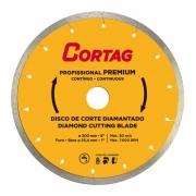 disco diamantado para porcelanato Cortag 200x25,4mm Premium 60570