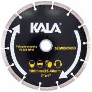 "Disco diamantado segmentado 180mm x 1""/20/22,2 kala 633917"