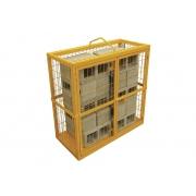Gaiola de blocos para elevação capacidade 500kg 42kg Menegotti