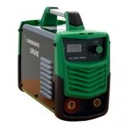 Inversora de solda 200a carbografite CG200 bivolt automática